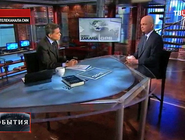 Экс-глава ЦРУ и АНБ Майкл Хейден в эфире телеканала CNN