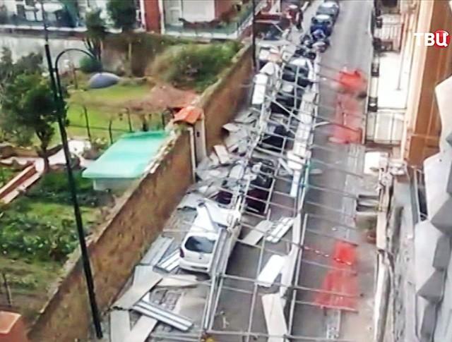 Последствия штормового ветра в Италии