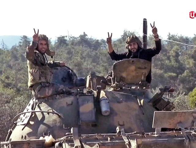 Военнослужащий сирийской армии