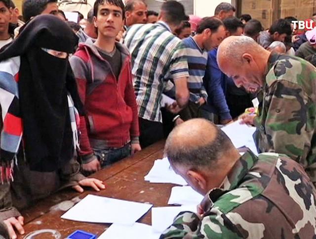 Жители Сирии согласились на перемирие