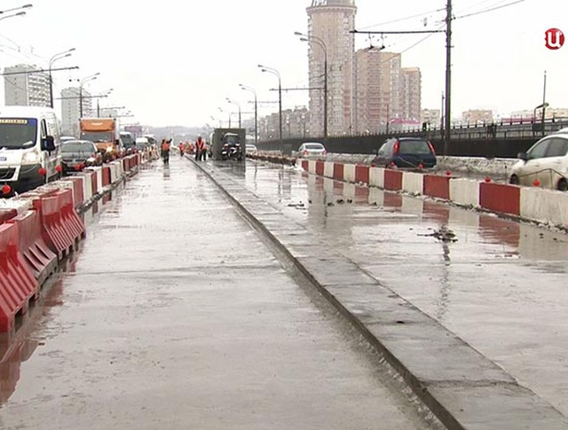 Реконструкция Нагатинского моста
