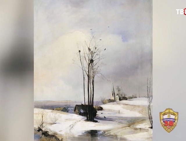 Картина Алексея Саврасова