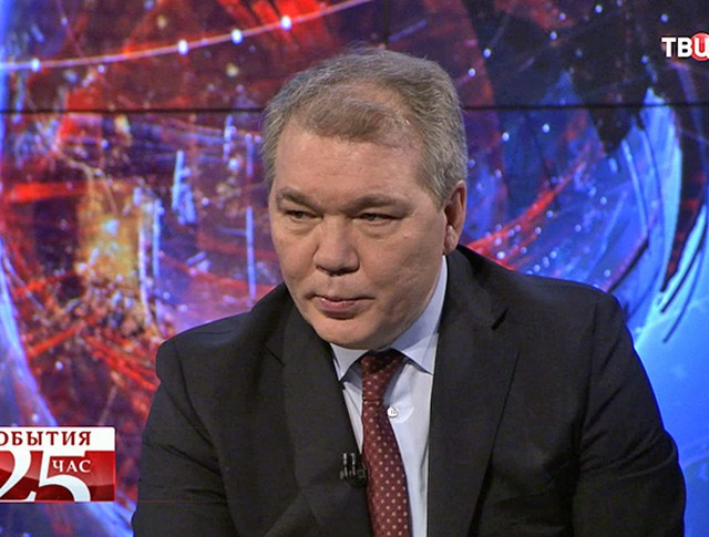 Леонид Калашников, первый заместитель председателя комитета Госдумы РФ по международным делам