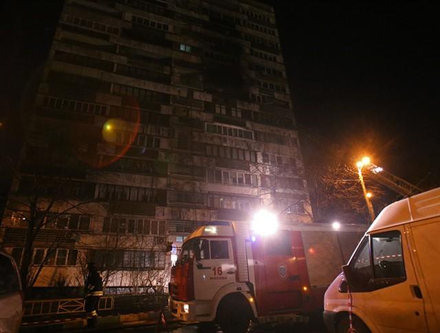 Взрыва газа в доме на юго-востоке Москвы