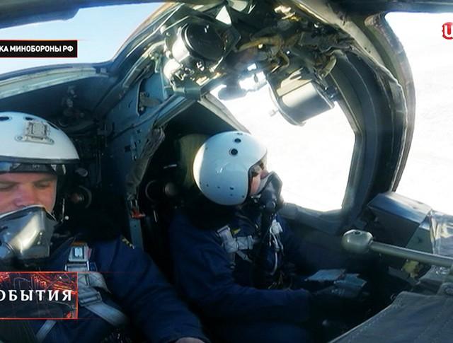 Экипаж бомбардировщика Су-24