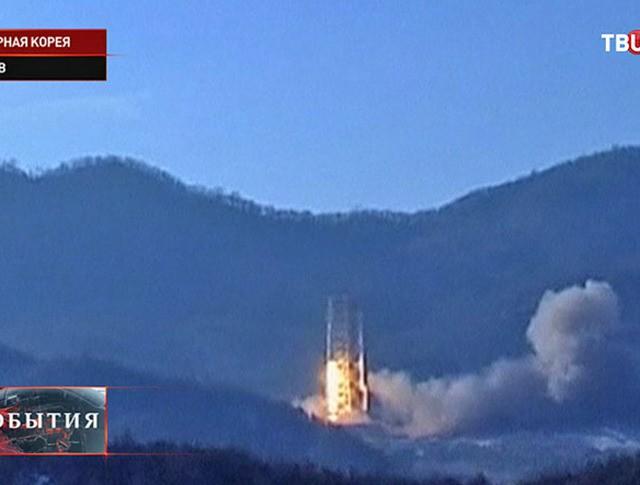 Запуск ракет КНДР