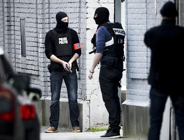 Полиция Брюсселя проводит спецоперацию
