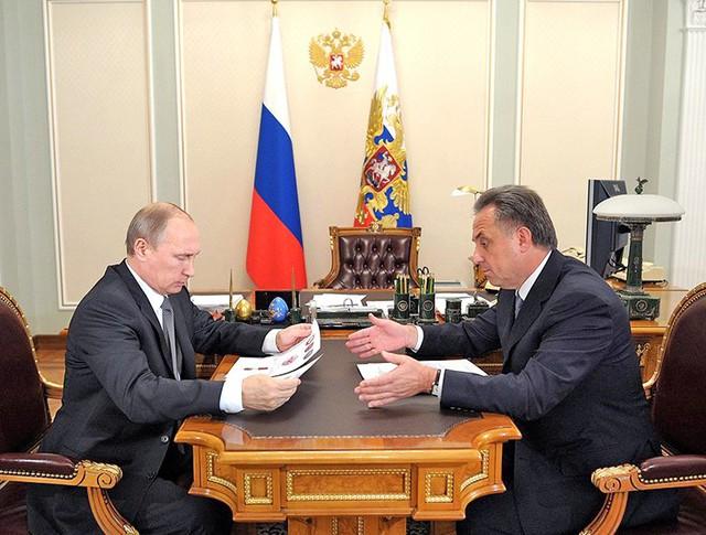 Владимир Путин и Виталий Мутко