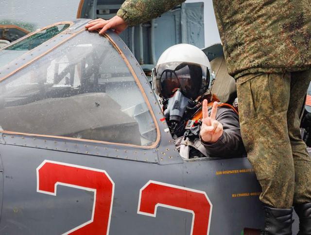 Пилоты авиагруппировки ВКС России
