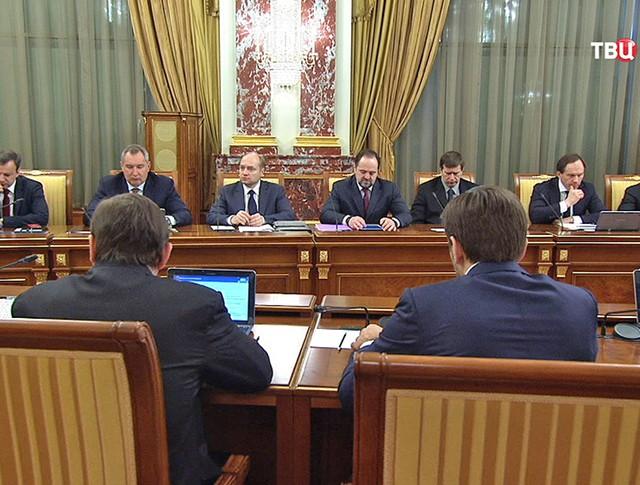 Заседание кабинета министров России