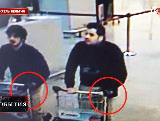 Подозреваемые в теракте в аэропорту Брюсселя
