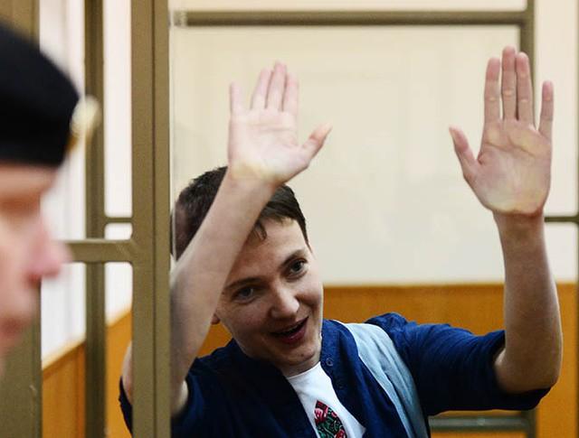 Гражданка Украины Надежда Савченко