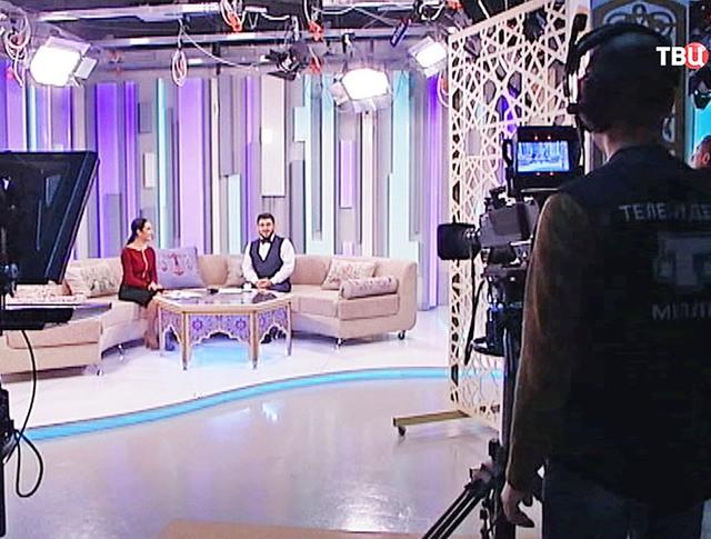 """Студия крымско-татарского телеканала """"Миллет"""""""