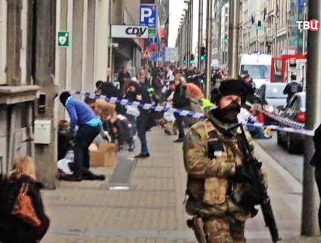 Последствия теракта в Брюсселе