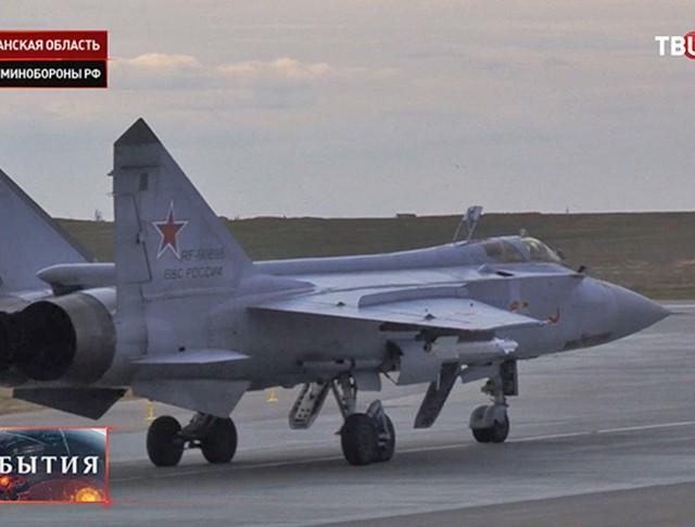 Учения экипажей МиГ-31