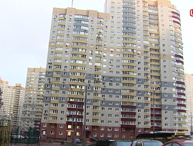 Многоэтажный квартирный дом