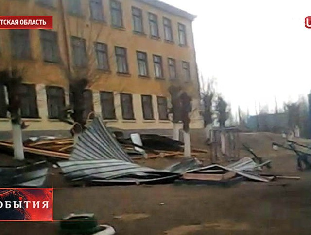 Ураган в Иркутске