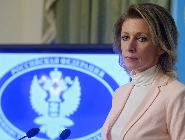 Мария Захарова на брифинге по текущим вопросам внешней политики