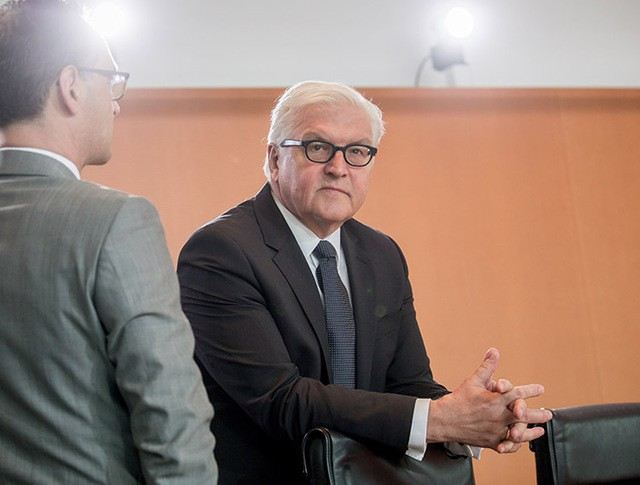 Глава МИД Германии Франк Штайнмайер