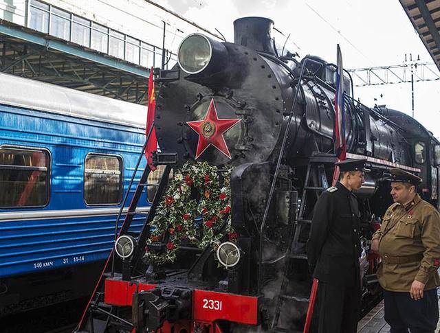 """Агитпоезд """"Армия Победы"""""""