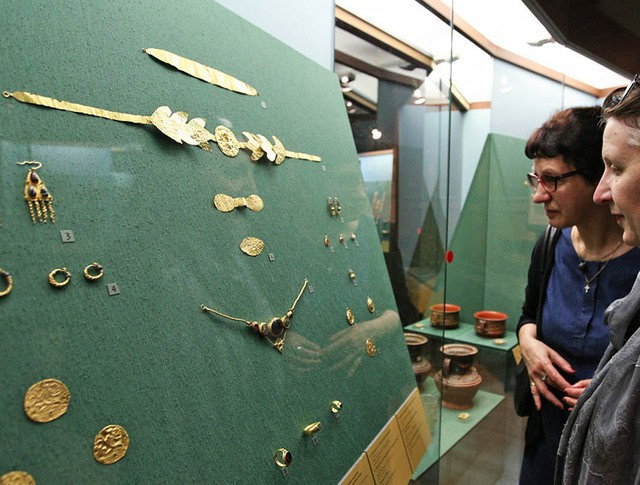 """Выставка """"Греческое золото. Сокровища эллинов и варваров в Историческом музее"""""""
