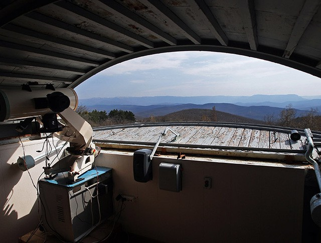 Обзорный телескоп геостационарной области