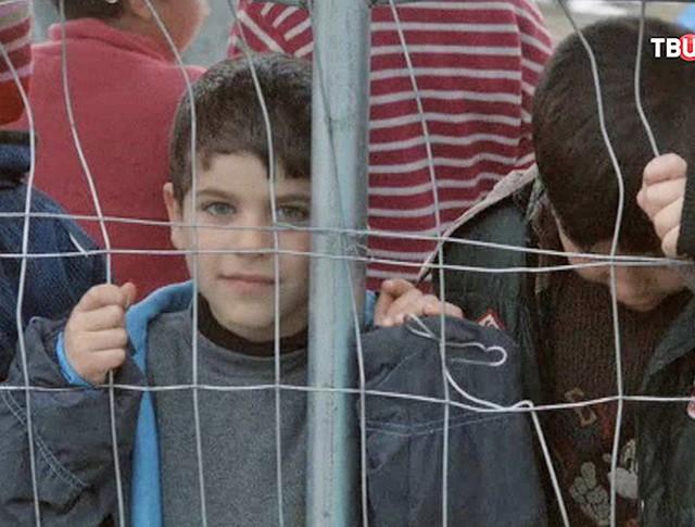 Дети беженцев