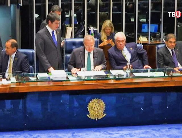 Заседание сената Бразилии