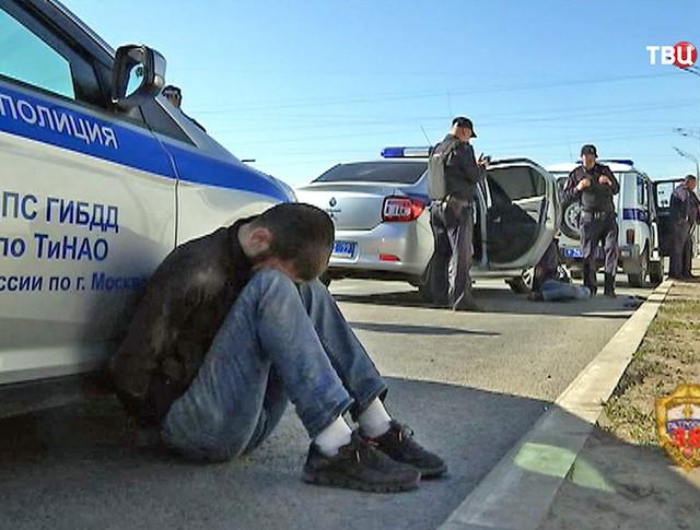 Полиция задержала участников массовой драки на Хованском кладбище