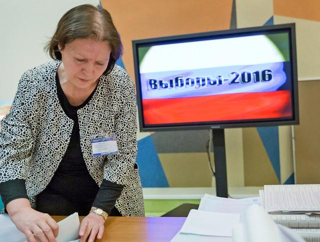Работа комиссии по подсчету голосов по итогам голосования