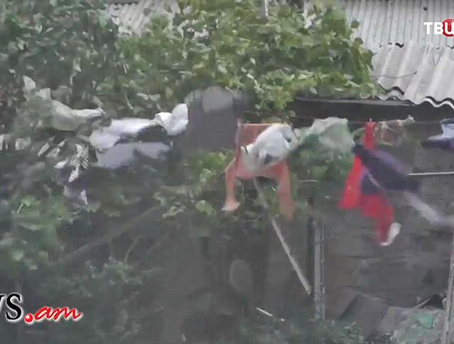 Ураган в Ереване