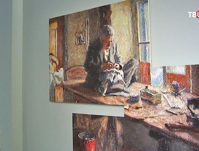 """Музей на территории фабрики """"Большевик"""""""