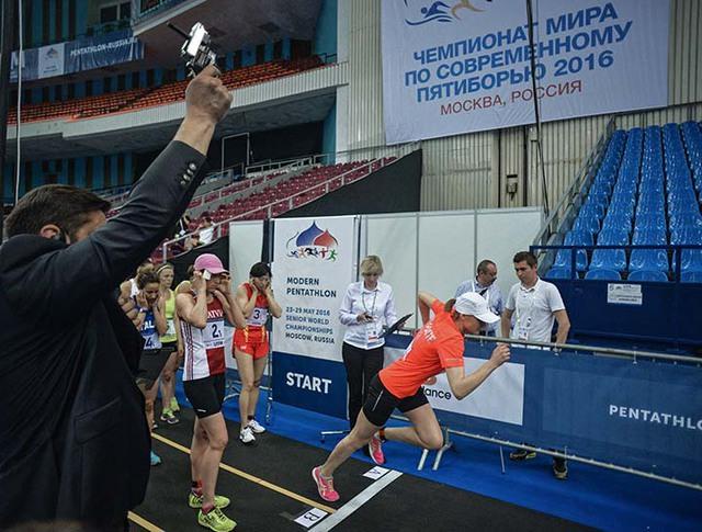 Чемпионат мира по современному пятиборью в Москве