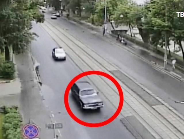 """Угнанный автомобиль """"Чайка"""""""
