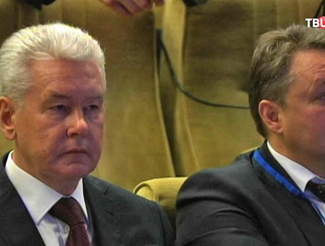 Сергей Собянин на форуме регионов России и Белоруссии