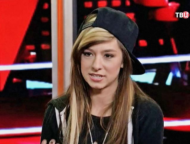 Певица Кристина Гримми