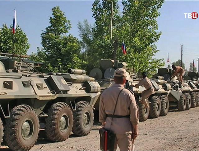 Российская военная база в Таджикистане