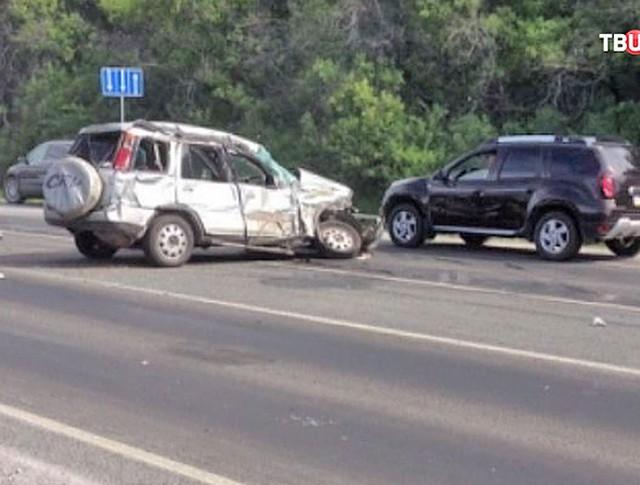 ДТП под Новосибирском
