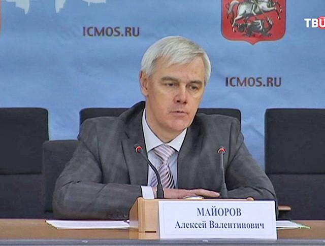 Руководитель Департамента региональной безопасности и противодействия коррупции Алексей Майоров