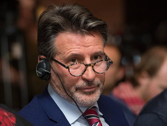 Президент Международной ассоциации легкоатлетических федераций Себастьян Коу