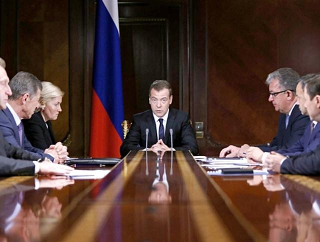 Дмитрий Медведев провел заседание Правительства России