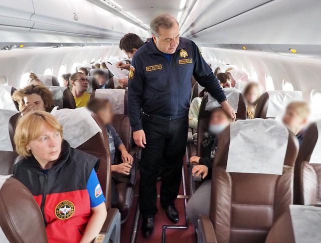 Владимир Пучков поблагодарил детей, спасенных на Сямозере, за стойкость и самоотверженность