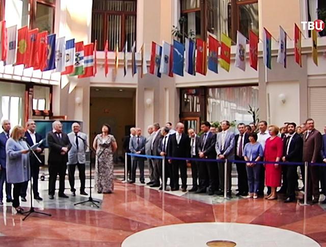 Пресс-конференция в ЦИК