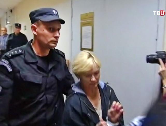 """Задержанная директор """"Парк-отеля """"Сямозеро"""" Елена Решетова"""