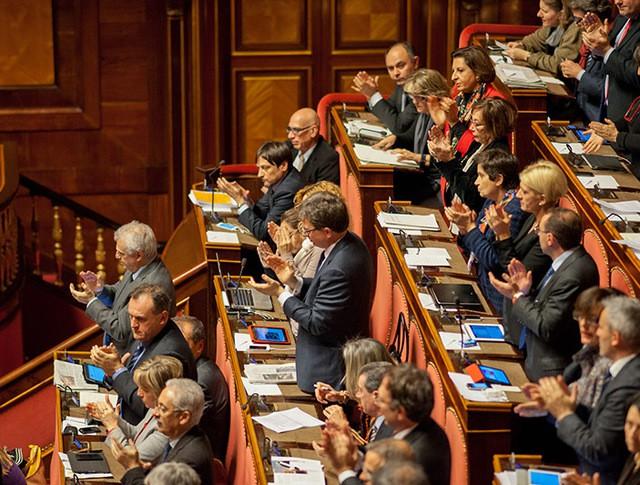 Заседание Сената Италии