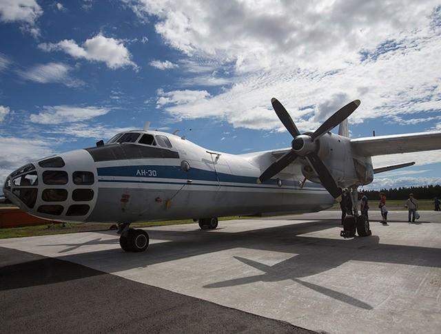 Самолет для аэрофотосъемки Ан-30