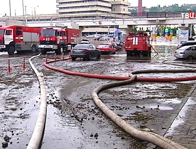 Последствия наводнения в Ростове-на-Дону