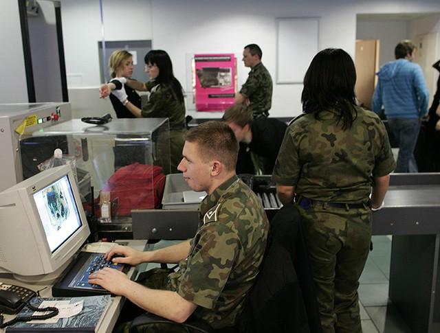 КПП польской пограничной службы