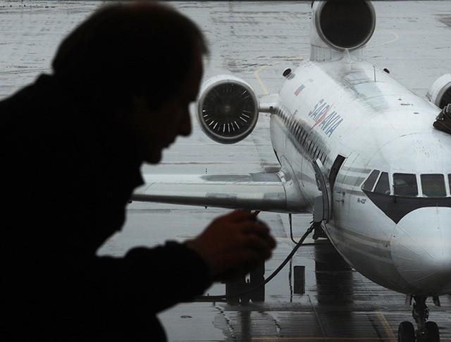 """Пассажир в аэропорту """"Внуково"""""""