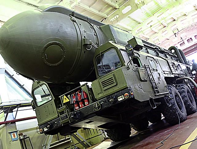 """Ракетный комплекс """"Тополь"""""""